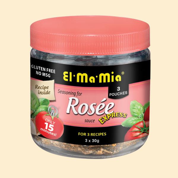 Assaisonnement pour sauce rosée express