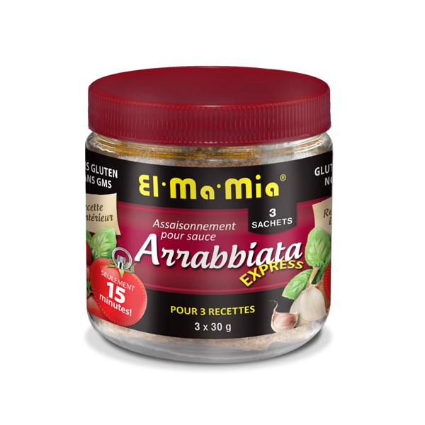 Assaisonnement pour sauce arriabbata